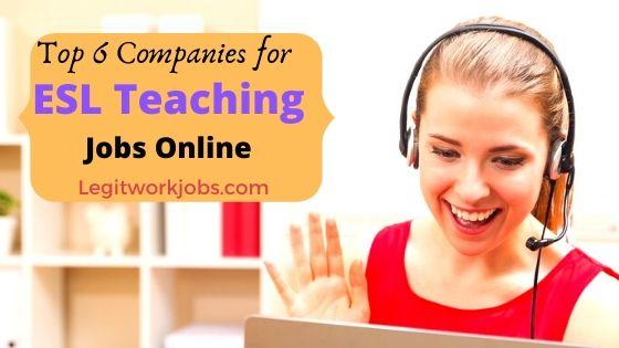 ESL Teaching Jobs Online