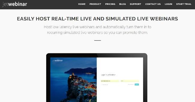 Jetwebinar webinar platform