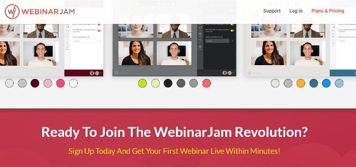 WebinarJam one of the best Webinar software
