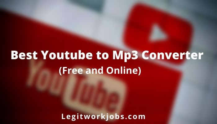 Best Youtube to Mp3 Converter
