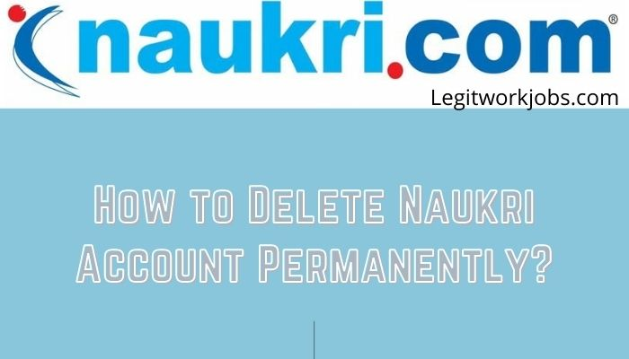 How to Delete Naukri Account Permanently