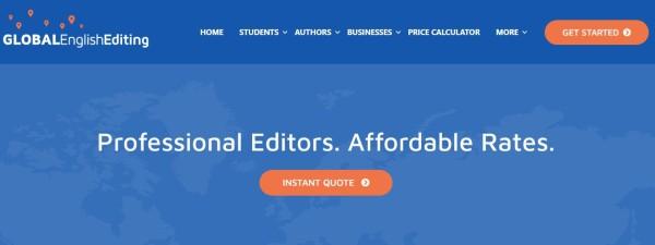 Global english editor