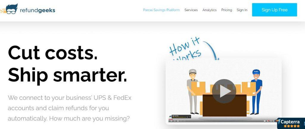 Refundgeeks Shipping Software