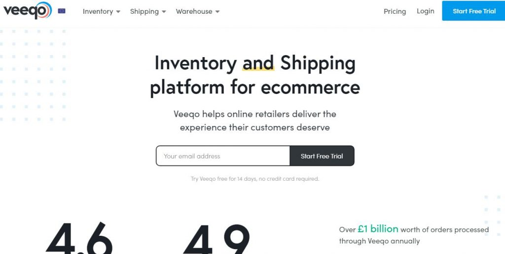 Veeqo Shipping Software