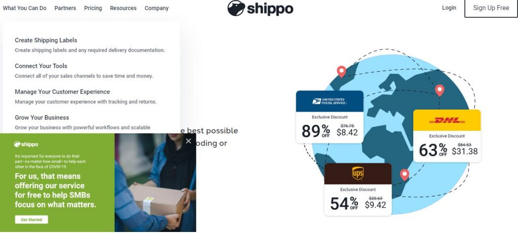 shippo Shipping Software