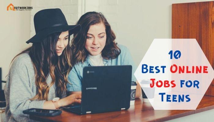 Best Online Jobs for Teens
