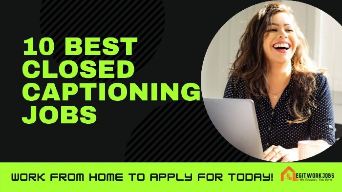 closed captioning jobs from home