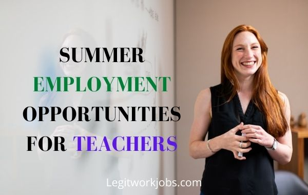 10 Best Summer Jobs for Teachers