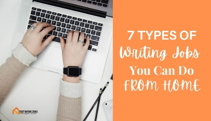 Types of Writing Jobs