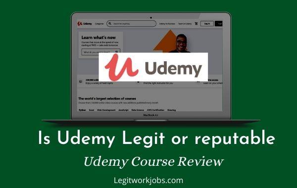 Is Udemy Legit