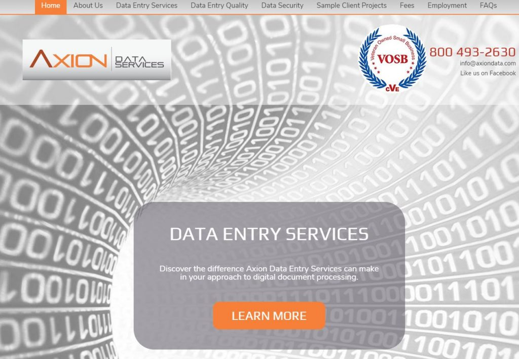 Axion Data Services