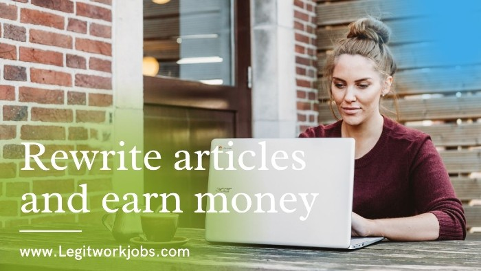 Rewrite articles and earn money | Article Rewriting Guide