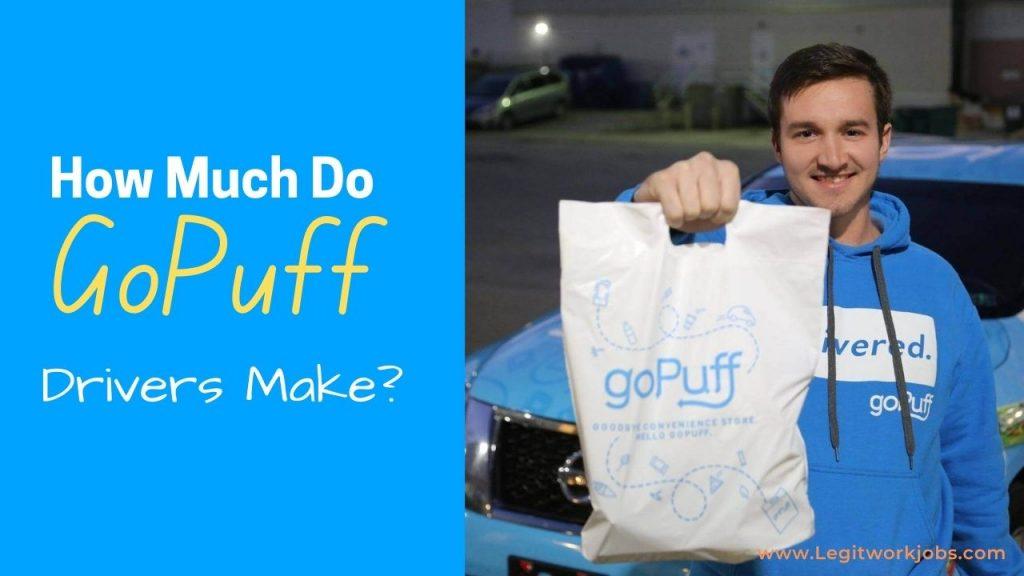 How Much Do GoPuff Drivers Make