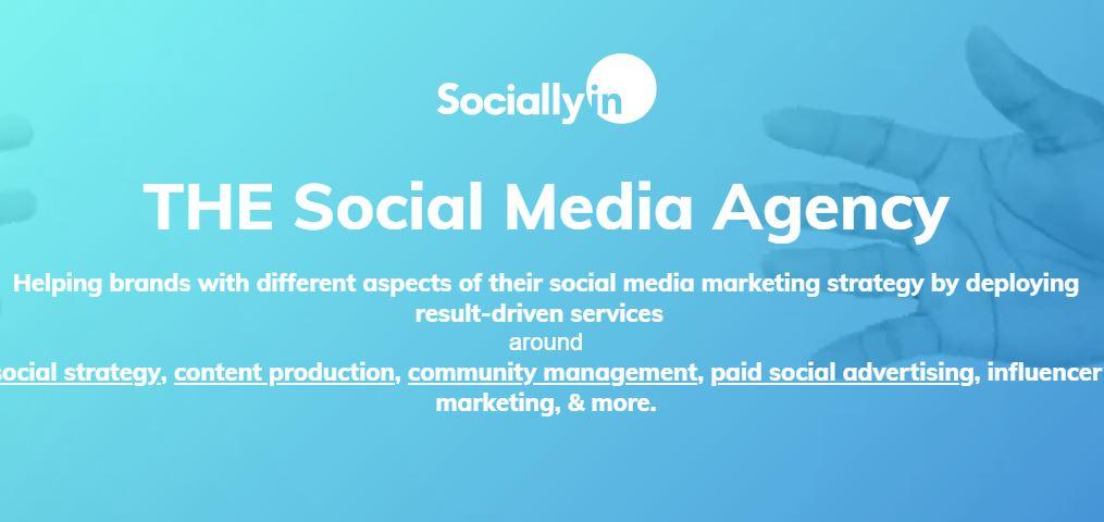 Sociallyn Social Media Marketing Agency