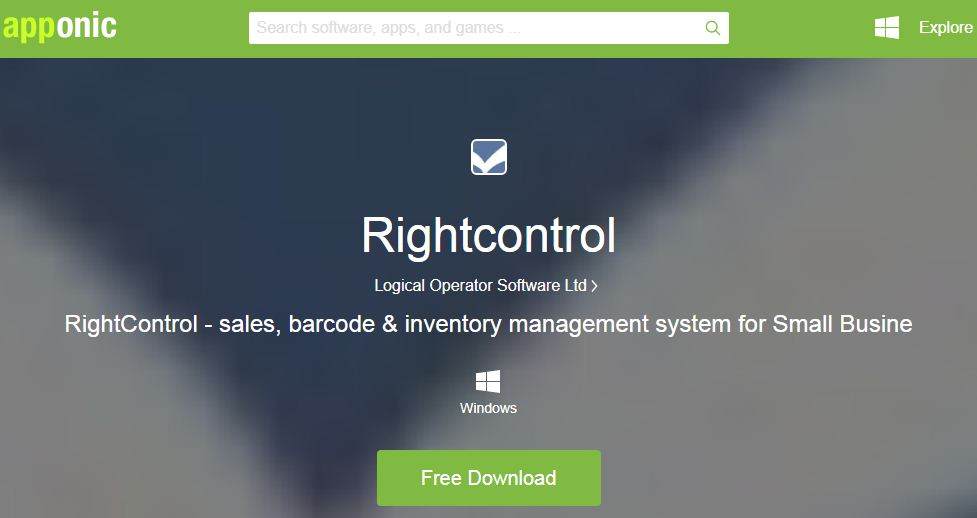 RighConrol is one of the Best free Inventory Management Softwares